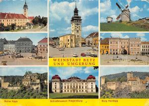 Weinstadt Retz und Emgebung, Ruine Kaya Schlossmuseum Burg Hardegg Muehle