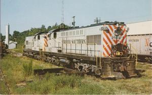 RALEIGH North Carolina - Norfolk Southern Locomotive 1970s era