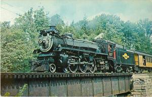 Steamtown U.S.A. Pacific #127 Former Canadian Pacific #1278 Brockways Mills VT