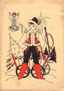 Traditional Clothing Young Man, Boy, Cherub, Angel, Winter, Fantasy