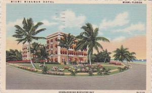 Florida Miami Miramar Hotel 1951