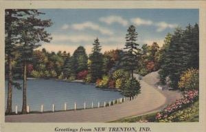 Indiana Greetings From New Trenton