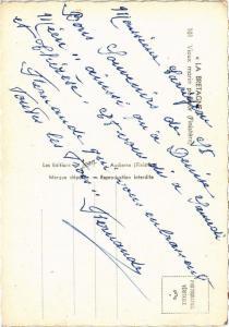 CPM La Bretagne Vieux marin pecheur FOLKLORE (752580)