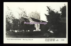 pp2348 - Hants - Basing Church & Cemetry in Basingstoke - Pamlin postcard