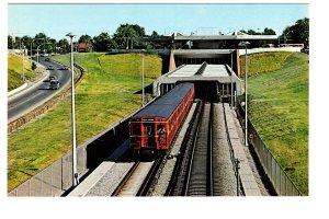 TTC Subway Train, Eglinton West Station,  Toronto, Ontario