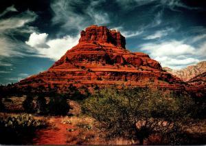 Arizona Sedona Bell Rock Seen From Arizona Route 179