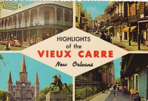 Louisiana New Orleans Highlight Of The Vieux Carre