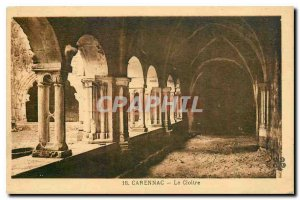 Old Postcard Carennac Le Cloitre