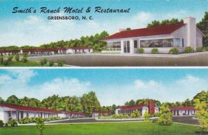 North Carolina Greensboro Smiths Ranch Motel & Restaurant