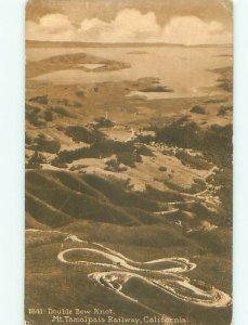 Divided-back TAMALPAIS Mill Valley & Sausalito & San Francisco CA AD8470
