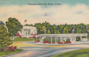 ATLANTA , Georgia , 1945 ; Cyclorama, Grant Park