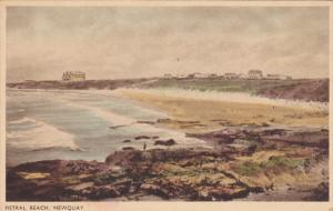 NEWQUAY, Cornwall/ Scilly Isles, England, 1900-1910´s; Fistral Beach
