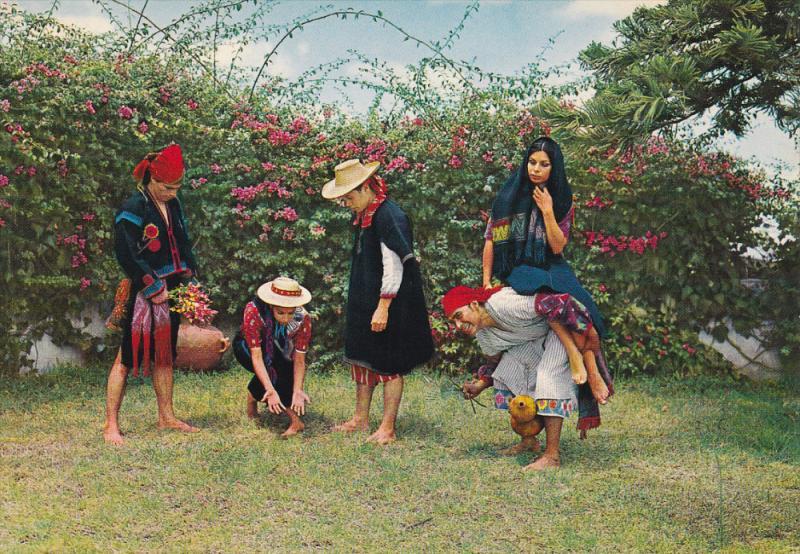 Folklore group , Ballet of Guatemala , Guatemala , 50-70s