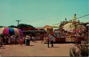 Bowling Green KY~Beech Bend Amusement Park~Midway Roller Coaster~Trabant~1950s