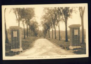 Mount Hermon, Massachusetts/MA/Mass Postcard, Entrance To Campus 16