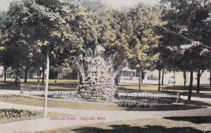 Michigan Detroit Cadillac Park