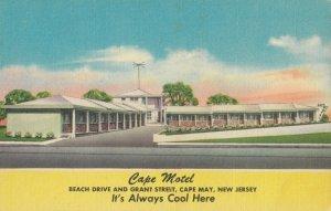 CAPE MAY , New Jersey, 1930-40s ; Cape Motel