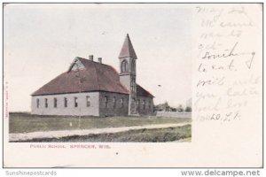 Public School Spencer Wisconsin 1907