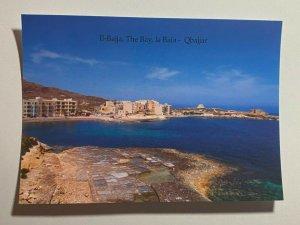 UNUSED PICTURE POSTCARD - GOZO MALTA  THE BAY QBAJJAR (KK1858)