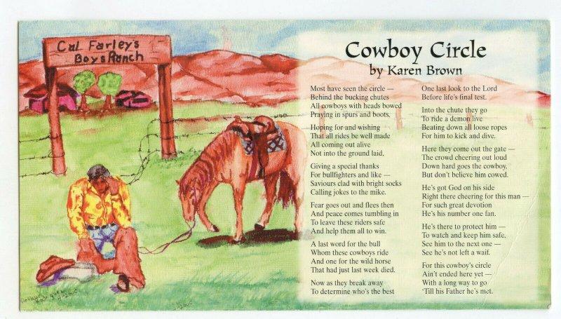 Cowboy Circle by Karen Brown Cal Farley's Boys Ranch and Affiliates