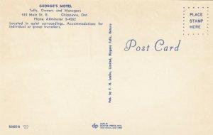 CHIPPAWA , Ontario , 1950-60s; George's Motel