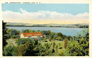 NH - Lake Sunapee. Burkehaven Hotel.