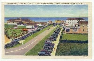 Center of Carolina Beach, North Carolina, 30-40s