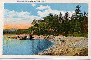 Sherman's Point - Camden, Knox County, Maine - near Rockland - WB