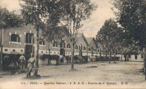 France Military Toul Quartier Fabvier ecuries du 6 Groupe WW1 03.66