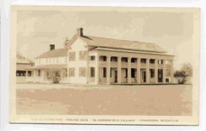 RP; Old Clinton Inn, Period 1832, in Greenfield Village, Dearborn, Michigan, ...