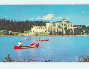 Pre-1980 TOWN VIEW SCENE Lake Louise Alberta AB p9673