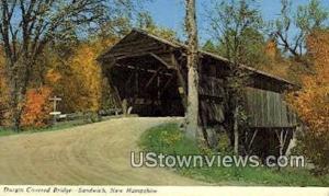 Durgin Covered Bridge Sandwich NH Unused