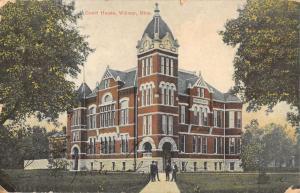 court house  willmar minnesota L4361 antique postcard