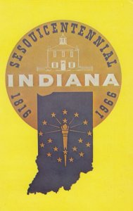 Sesquicentennial Seal , Indiana , 1966