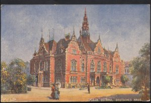 Czech Republic Postcard - Mahr Ostrau, Deutsches Haus   DP262