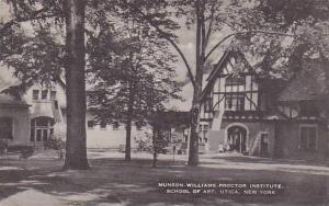 Munson Williams, Proctor Institute, School of Art, Utica, New York,   PU-00-10s