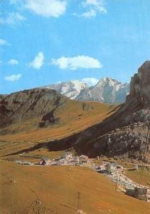 Italy Dolomiti Passo Pordoi la Marmolada Panorama