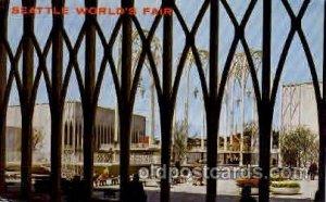 Seatle Washington Worlds Fair 1962, Exposition Unused