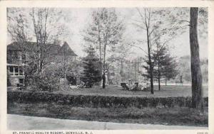 New Jersey Denville Saint Francis Health Resort 1941