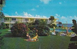 Lagoon Motel Clearwater Beach Florida 1966