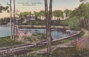 New York Oscawana Valeria Home The Lake Path Albertype