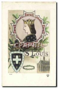 Old Postcard St. Louis Surname