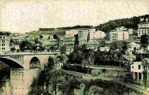 Algeria Constantine El Kantara Pont Bridge General view Postcard