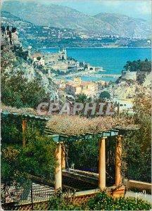 Modern Postcard The French Riviera Monte Carlo Vue Generale