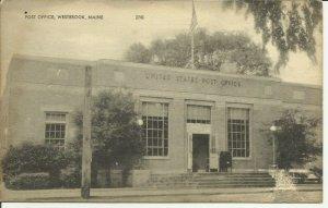 Westbrook, Maine, Post Office