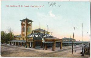 Southern RR Depot, Charlotte NC
