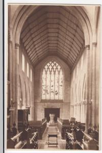 Norfolk; Interior, St Nicholas Church, (West) Dereham RP PPC By H Coates, Unused