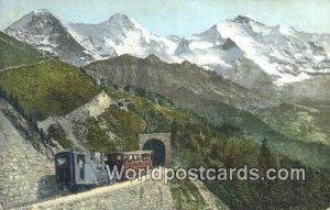 Schynige Platte Bahn Swizerland Unused