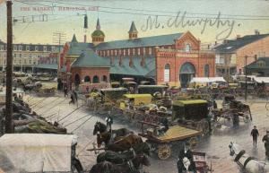 HAMILTON , Ontario , 1906 ; The Market