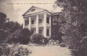 Mississippi Rosalie D A R State Shrine Built In 1820 Artvue